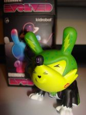 "Buy Kidrobot Dunny 3"" 2013 Evolved Kronk Chase ?/?? Howl Cartoon Wolf Vinyl Figure"