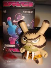 "Buy Kidrobot Dunny 3"" 2013 Evolved Frank Kozik Caveman 3/40 New Vinyl Art Figure"