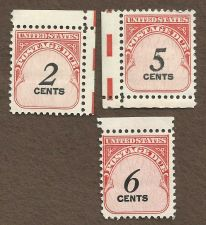 Buy US Postage Due Stamp Collection Lot - MNH 2c 5c & 6c