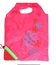 Buy Shopping Bag Flower Print Strawberry Grocery Convenient Bags