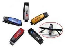 Buy Smart Car Vehicle Visor Sunglasses Eyeglass Card Pen Holder Clip 2 Pcs.