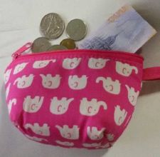Buy NEW!CHANG THAI BAG WOMEN ACCESSORY CUTE COIN PURSE PINK MINI FREE SHIPPING