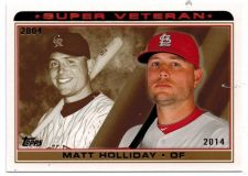 Buy 2014 Topps Super Veteran #SV11 Matt Holliday