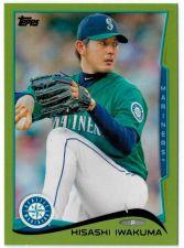 Buy 2014 Topps Green #65 Hisashi Iwakuma