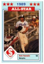 Buy 1989 Southern League All-Stars Jennings #9 Bob Hamelin