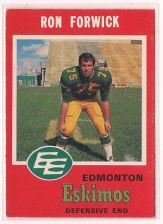 Buy 1971 O-Pee-Chee CFL #56 Ron Forwick
