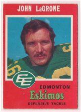 Buy 1971 O-Pee-Chee CFL #57 John LaGrone