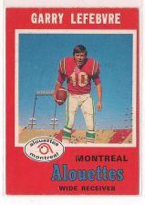 Buy 1971 O-Pee-Chee CFL #114 Garry Lefebvre