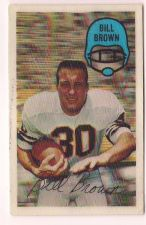 Buy 1970 Kellogg's #16 Bill Brown