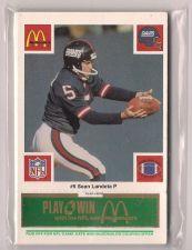 Buy 1986 McDonald's Giants Green Tab