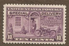 Buy US E15 10c SPECIAL DELIVERY VIOLET 1927 MNH in Quality Mount
