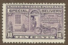 Buy US E15 10c SPECIAL DELIVERY GRAY VIOLET 1927 MNH in Quality Mount