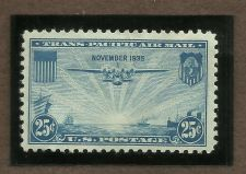 Buy US 25c Trans Pacific Air Mail Stamp 1935 Scott C20 MNH in Quality Mount