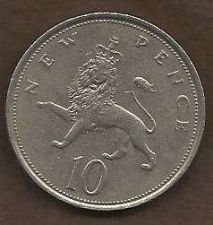Buy 1974 Great Britain 10 New Pence Coin