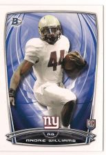 Buy 2014 Bowman #R101 Andre Williams RC