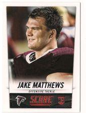 Buy 2014 Score #375 Jake Matthews RC