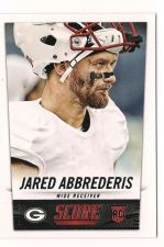 Buy 2014 Score #379 Jared Abbrederis RC
