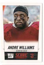 Buy 2014 Score #336 Andre Williams RC