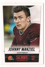 Buy 2014 Score #387 Johnny Manziel RC