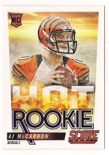 Buy 2014 Score Hot Rookies #HR12 A.J. McCarron