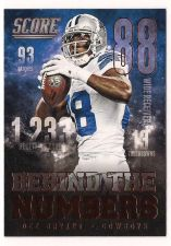 Buy 2014 Score Behind The Numbers Red #BN14 Dez Bryant