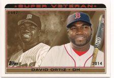 Buy 2014 Topps Super Veteran #SV6 David Ortiz