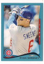Buy 2014 Topps Wal Mart Blue Border #93 Ryan Sweeney
