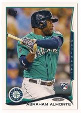Buy 2014 Topps #256 Abraham Almonte RC