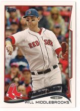 Buy 2014 Topps #136A Will Middlebrooks FS