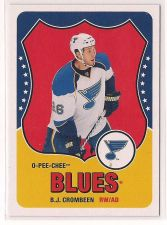 Buy 2010-11 O-Pee-Chee Retro Blank Backs #176 B.J. Crombeen