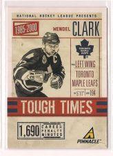 Buy 2011-12 Pinnacle Tough Times #1 Wendel Clark
