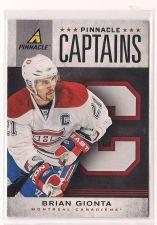 Buy 2011-12 Pinnacle Captains #11 Brian Gionta