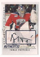 Buy 2007-08 Between The Pipes Autographs #ATP Tomas Popperle