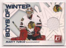 Buy 2010-11 Donruss Boys of Winter Threads #27 Marty Turco