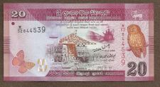 Buy SRI LANKA PAPER MONEY 20 RUPEE 2010 P-123 BANKNOTE 92844539 Uncirculated