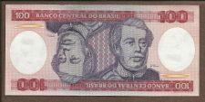 Buy BRAZIL 100 Cruzeiros 1984 ND Stan I BRAZYLIA Note A5957041843A AUNC