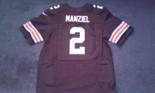 Buy Johnny Manziel Cleveland Browns Nike elite jersey size 48- NWT