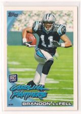 Buy 2010 Topps #356A Brandon LaFell RC/Running pose