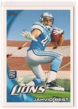 Buy 2010 Topps #268A Jahvid Best RC/Leaping pose, empty stands