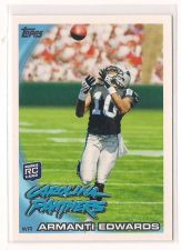 Buy 2010 Topps #315A Armanti Edwards RC/Catching a pass