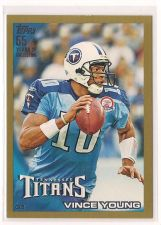 Buy 2010 Topps Gold #186 Vince Young