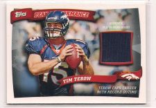 Buy 2010 Topps Peak Performance Relics #PPRTT Tim Tebow