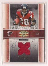 Buy 2007 Donruss Gridiron Gear Playbook Jerseys X's #21 Warrick Dunn #152/250