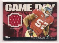 Buy 2011 Topps Game Day Relics #GDRPW Patrick Willis