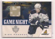 Buy 2011-12 Pinnacle Game Night Materials #44 Dion Phaneuf