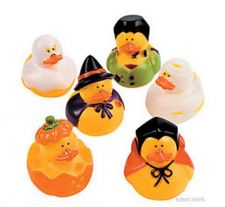 Buy 6 HALLOWEEN RUBBER DUCKS~~NEW~~Decoration~Treat~Favor~~Gift
