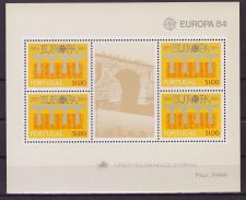 Buy Portugal EUROPA 1984 mnh SS 1601a
