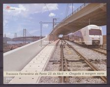 Buy Portugal Trains 2315 mnh SS