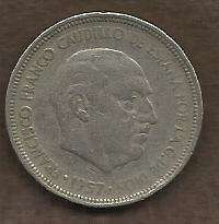 Buy Spain 5 PESETA 1957 Coin