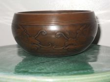 Buy Antique Asian singing bowl